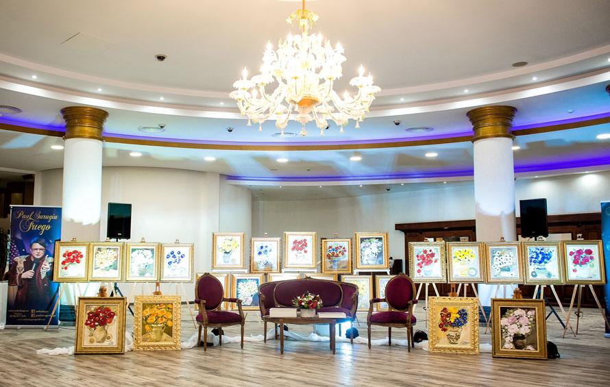 """Imagini de la cea de a cincisprezecea expoziție de pictură marca PAUL SURUGIU - FUEGO – """"ANOTIMPUL IUBIRII"""" - Brașov, Q Events (17 mai 2019)"""